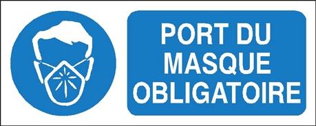 Port du masque obligatoire stf 2322s direct signal tique - Port du gilet de sauvetage obligatoire ...