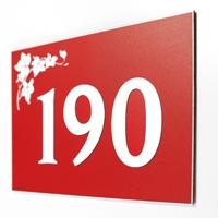 Numéro de maison personnalisé