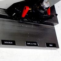 Etiquettes gravées pour industrie