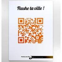 Panneau Flash Code pour ville
