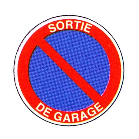 Panneau sortie de garage r23 direct signal tique for Affichage obligatoire garage