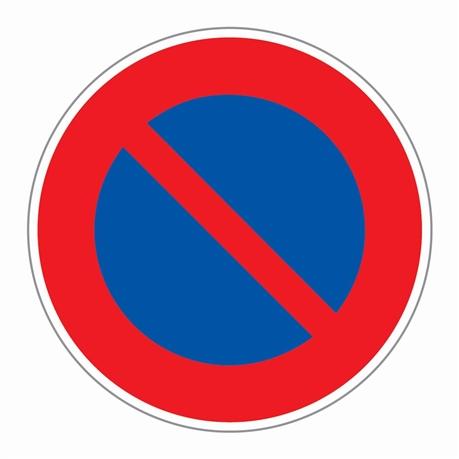 Panneau Stationnement Interdit Plat Direct Signaletique