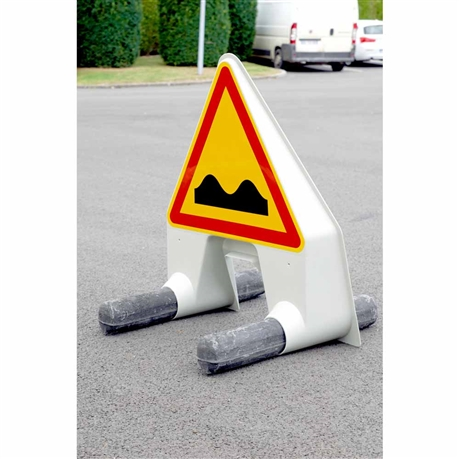Panneau De Chantier Attention Cassis Direct Signaletique
