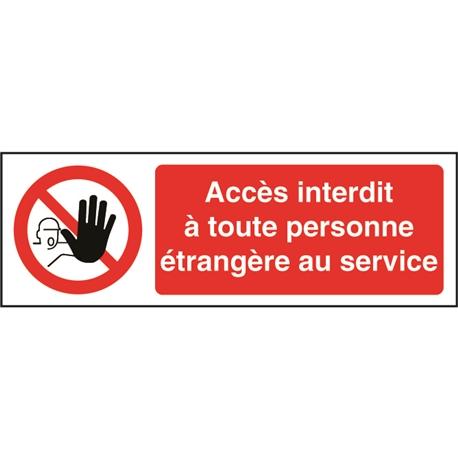 Danger haute tension,PAS dacc/ès pour panneau non Autoris/é personnes/ /Autocollant 300/mm x 200/mm
