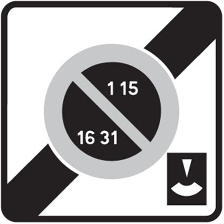 panneau de stationnement b50e direct signal tique. Black Bedroom Furniture Sets. Home Design Ideas