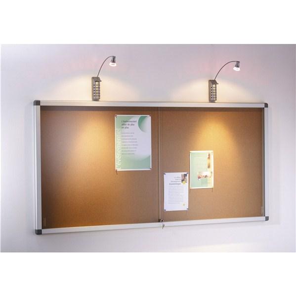 planorga vitrine planorga tableau blanc tryptique x cm with planorga vitrine elegant planorga. Black Bedroom Furniture Sets. Home Design Ideas