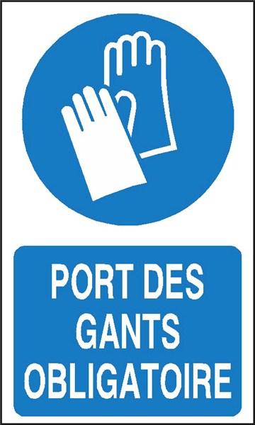 Port des gants obligatoire stf 2306s direct signal tique - Port des lunettes de securite obligatoire ...