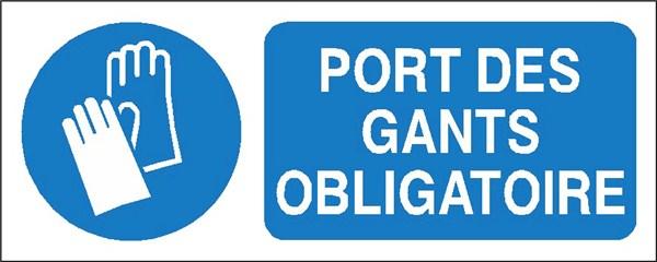 Port des gants obligatoire stf 2317s direct signal tique - Port des lunettes de securite obligatoire ...