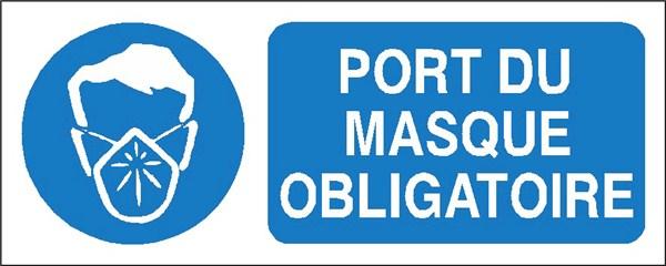 Port du masque obligatoire stf 2322s direct signal tique - Pictogramme port du masque obligatoire ...