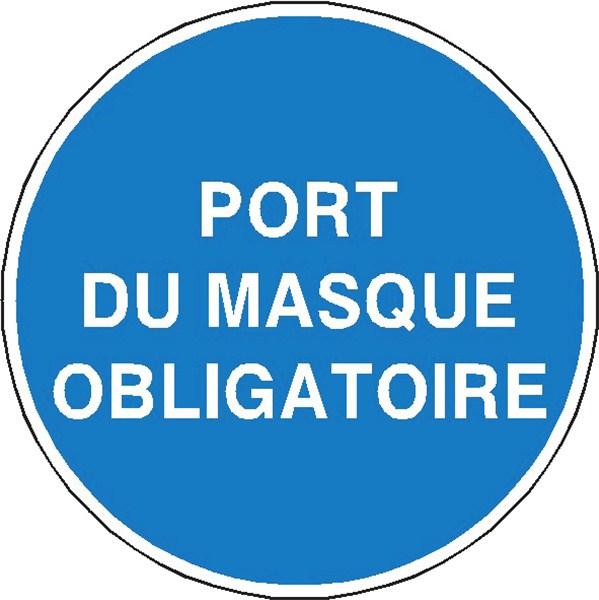 Port du masque obligatoire stf 2323s direct signal tique - Pictogramme port du masque obligatoire ...