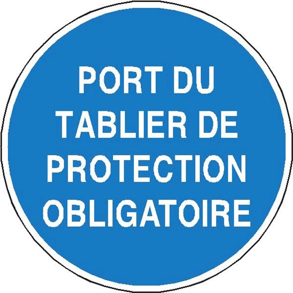 Port du tablier de protection obligatoire stf 2329s - Port du gilet de sauvetage obligatoire ...