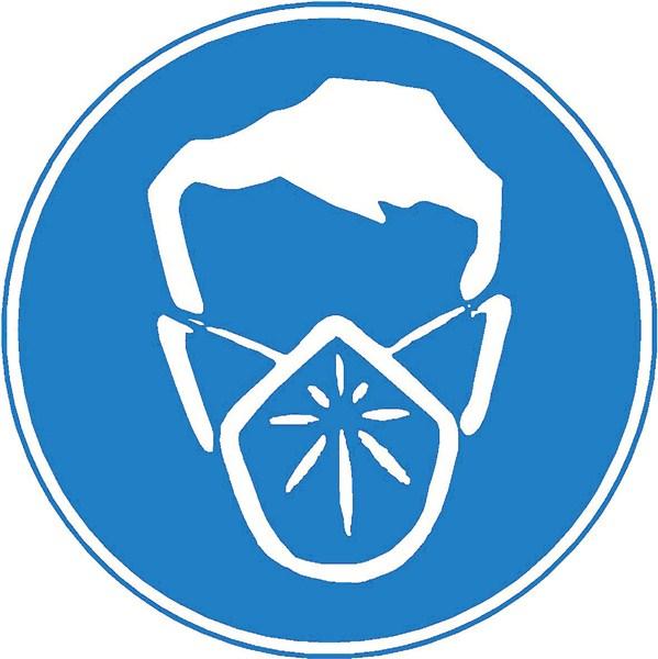 Masque anti poussi re obligatoire stf 2231s direct - Pictogramme port du masque obligatoire ...