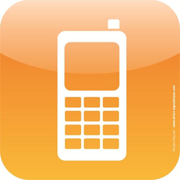 image logo telephone portable