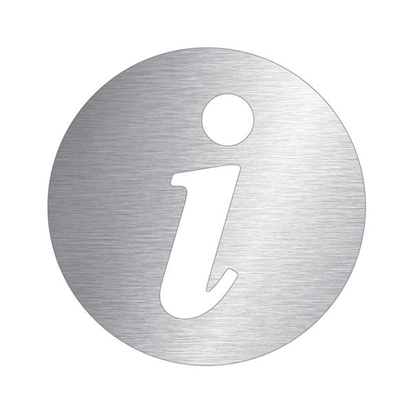 Pictogramme Information D 233 Coup 233 En Aluminium Direct