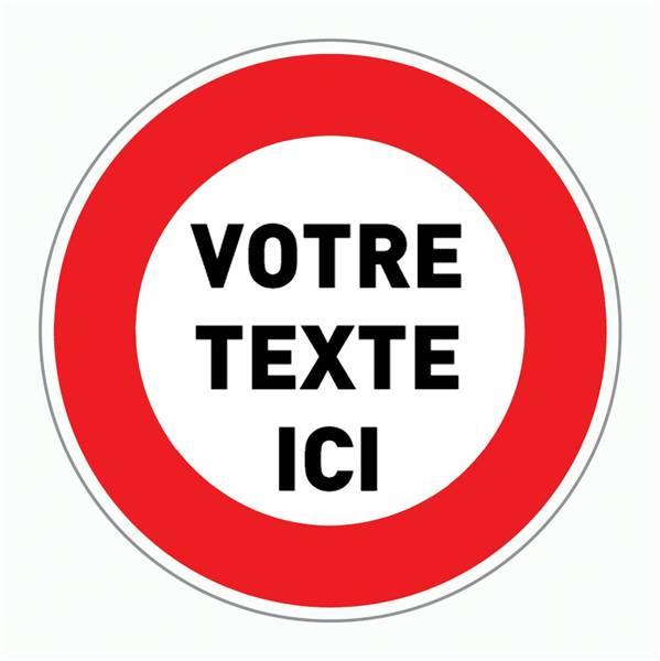 Panneau interdiction de stationner a imprimer gratuit pas cher - Panneau signalisation interdiction ...