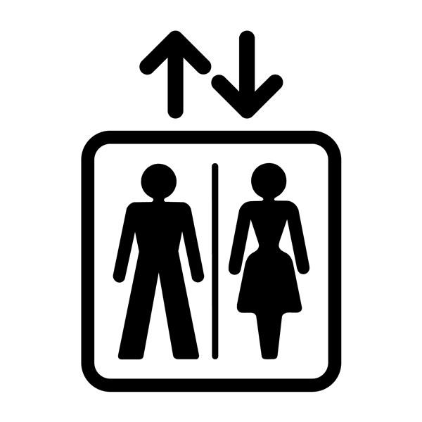 Adh sifs grands formats pour ascenseur gamme trend direct signal tique - Prix entretien ascenseur ...