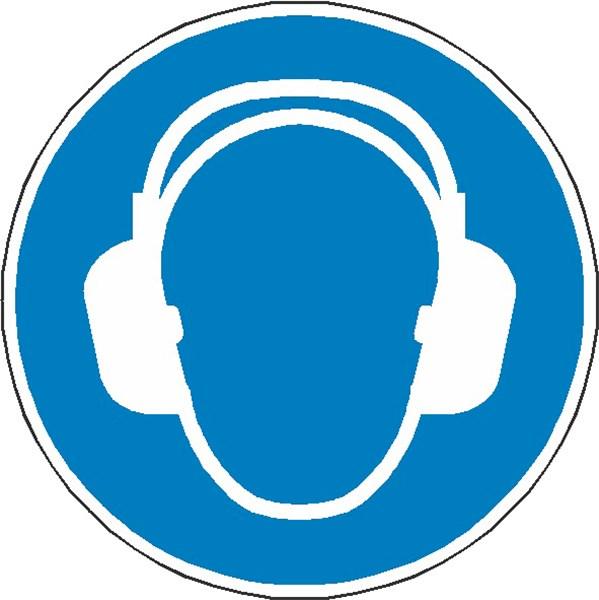 bf6754aedca8c9 Signalétique casque antibruit obligatoire ISO 7010 - M003