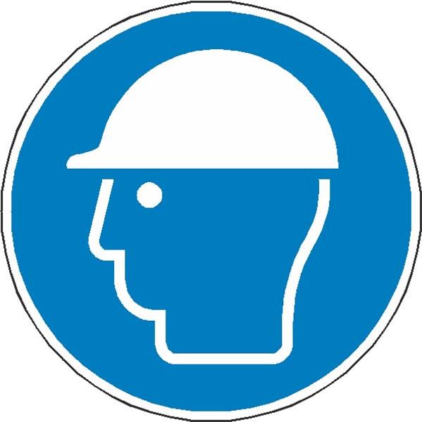 f5302c2301a2f8 Signalétique casque de protection obligatoire ISO 7010 - M014