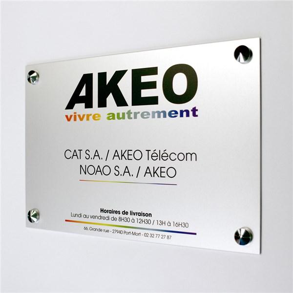 plaque signal tique en aluminium imprim direct signal tique. Black Bedroom Furniture Sets. Home Design Ideas