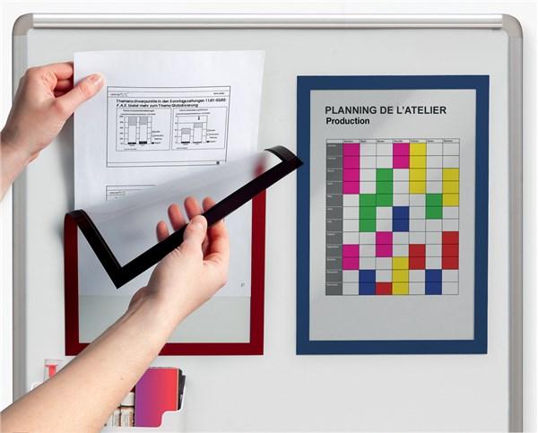 cadre d 39 affichage magn tique duraframe magnetic direct signal tique. Black Bedroom Furniture Sets. Home Design Ideas