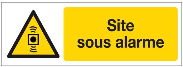 Panneau Site Sous Alarme Direct Signal 233 Tique