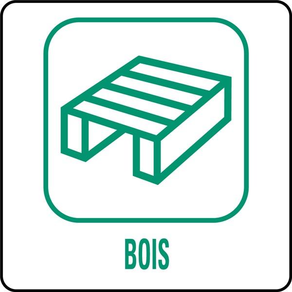 Panneau Signalisation Bois > Panneaux déchetterie Bois Direct Signalétique