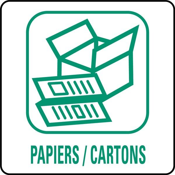 Panneaux d chetterie papiers cartons direct signal tique for Des cartons pour demenager
