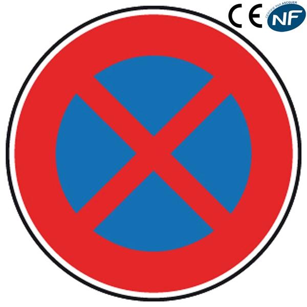 Panneau de stationnement arr t et stationnement interdit - Panneau de stationnement interdit ...
