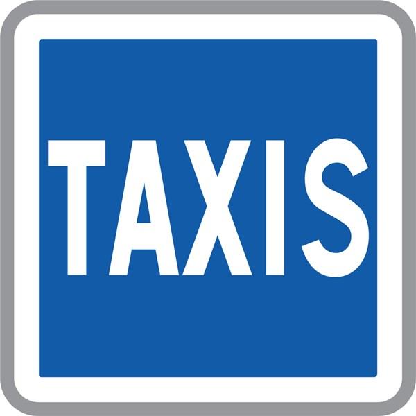 panneau d indication taxis c5 direct signal tique. Black Bedroom Furniture Sets. Home Design Ideas