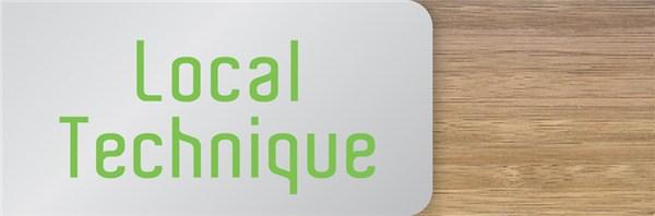 Signal tique local technique en bois et aluminium gamme for Dimension local technique