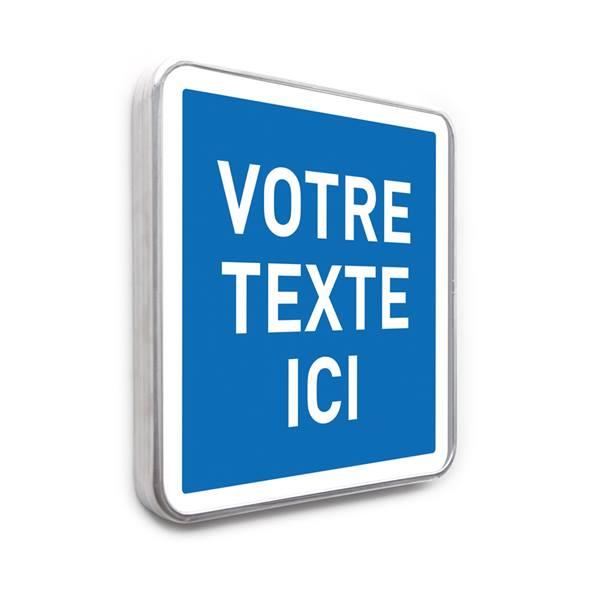 Panneau d indication personnalis type c direct signal tique - Panneau signaletique personnalise ...