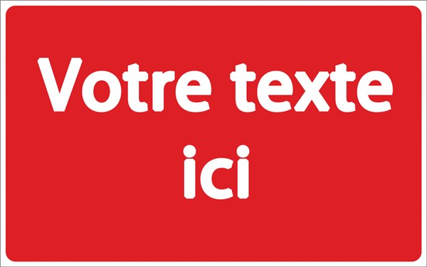 Panneau de copropri t personnalis direct signal tique - Panneau signaletique personnalise ...
