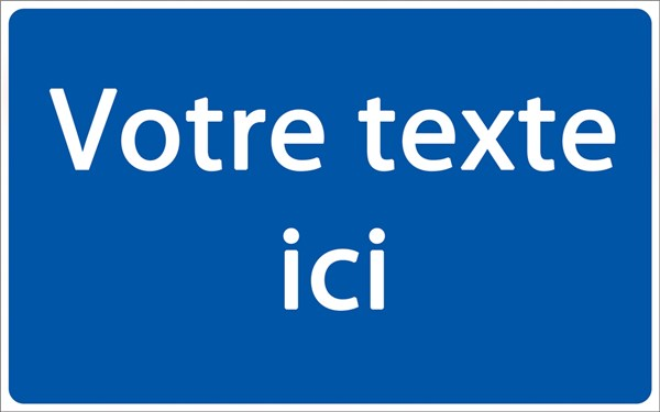 Panneau de parking personnalis direct signal tique - Panneau signaletique personnalise ...