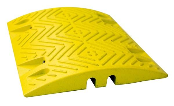 ralentisseur de parkings jaune et noir ht 50 mm direct. Black Bedroom Furniture Sets. Home Design Ideas