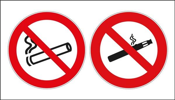 panneau interdiction de vapoter et fumer direct signal tique. Black Bedroom Furniture Sets. Home Design Ideas