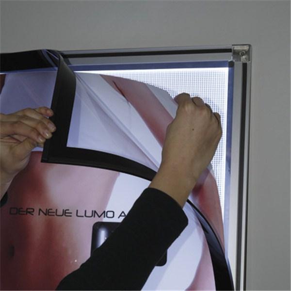 Cadre mural lumineux ouverture magn tique direct - Cadre lumineux lettre ...