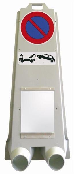 balise mobile avec panneau stationnement interdit direct. Black Bedroom Furniture Sets. Home Design Ideas