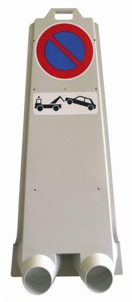 balise mobile avec panneau stationnement interdit direct signal tique. Black Bedroom Furniture Sets. Home Design Ideas