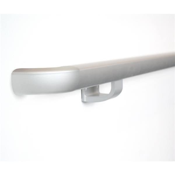 Main courante aluminium trilobée
