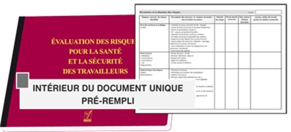 Document Unique Risques Professionnels Familian