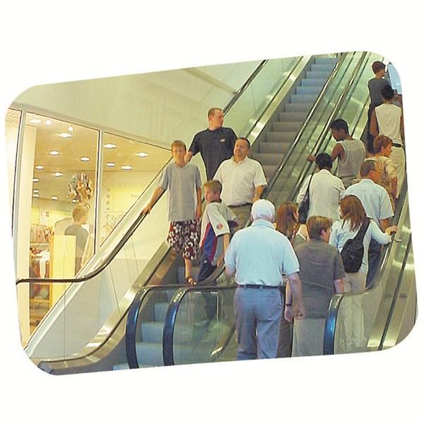 Miroir de surveillance pour int rieur grand format for Miroir adhesif grand format