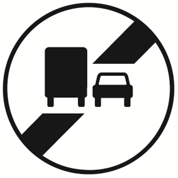 panneau poids lourd fin d interdiction de d passer direct signal tique. Black Bedroom Furniture Sets. Home Design Ideas