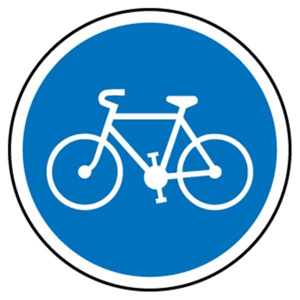 Panneau piste cyclable obligatoire for Ramonage obligatoire ou pas