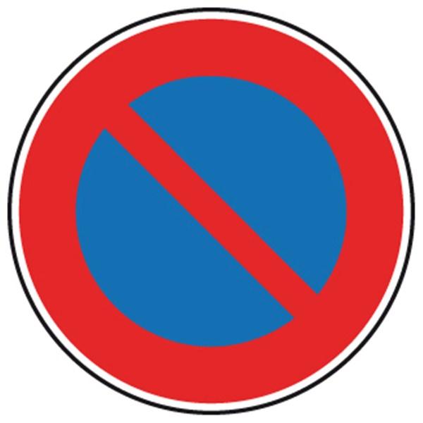 Panneau de stationnement interdit b6a1 direct signal tique - Panneau de stationnement interdit ...