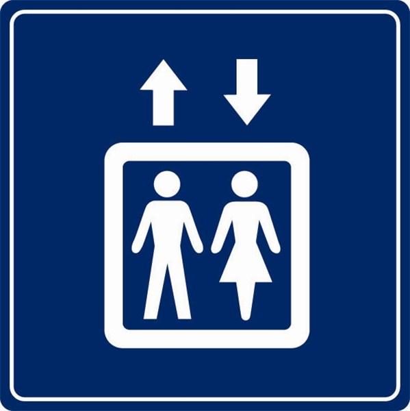 Plaque plexi picto ascenseur direct signal tique - Prix entretien ascenseur ...