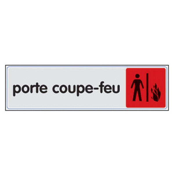 plaque plexi couleur porte coupe feu direct signal tique. Black Bedroom Furniture Sets. Home Design Ideas