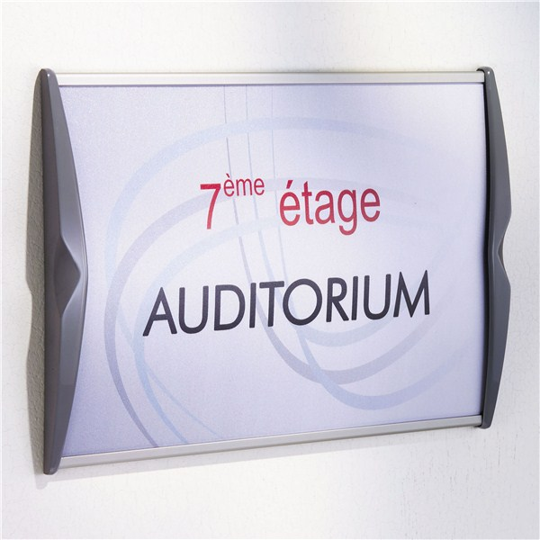 Plaque de porte galb p direct signal tique for Plaque de porte decorative