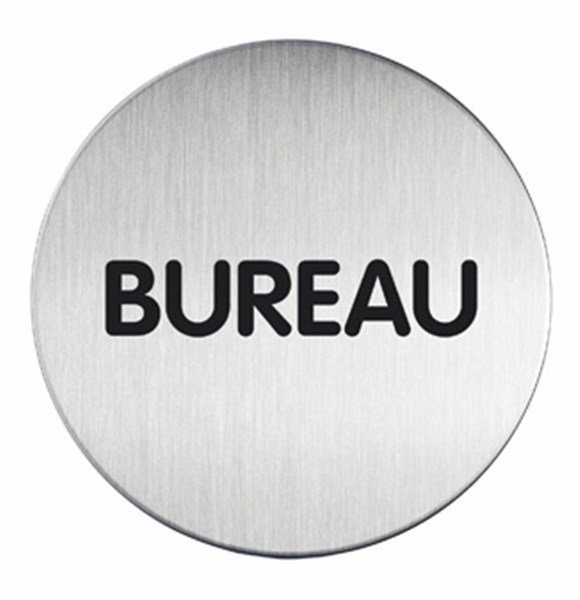 plaque symbole bureau alu bross 83 mm direct signal tique. Black Bedroom Furniture Sets. Home Design Ideas