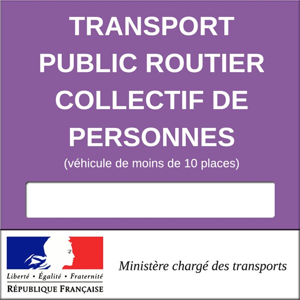 vignette transport public routier collectif de personnes