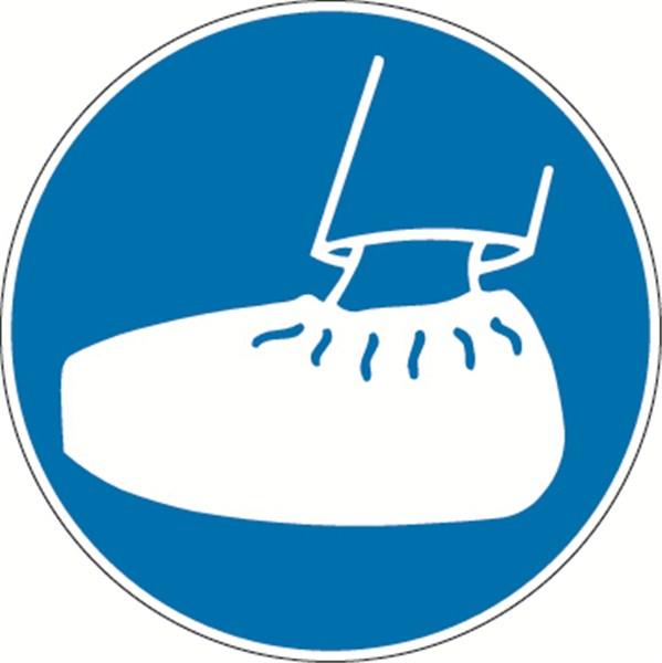 signal tique port de sur chaussures obligatoire pic 280 direct signal tique. Black Bedroom Furniture Sets. Home Design Ideas